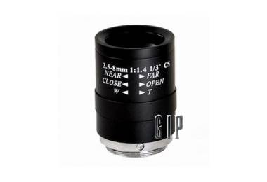 GIP0358M lentile varifocale iris manual 3.5-8mm